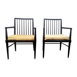 William Pahlmann Captain's Chairs - A Pair
