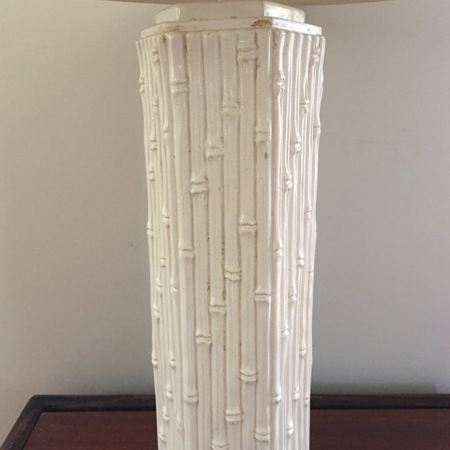 Image of Faux Bamboo Table Lamp