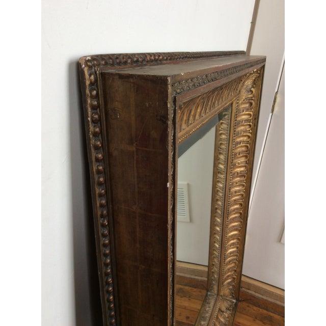 Antique Framed Carved Wood Mirror - Image 5 of 9