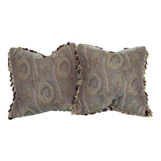 Etro Down Feather Pillows - A Pair