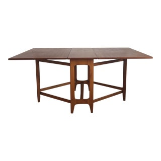 Bruno Mathsson Style Teak Gate Leg Dining Table
