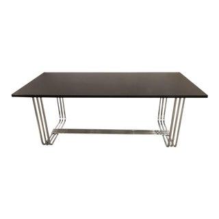 Ralph Lauren Ebonized Dining Table