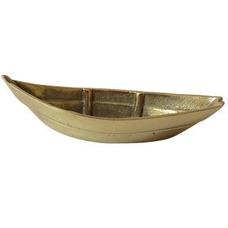 """""""Cape Cod Dory"""" Brass Boat"""