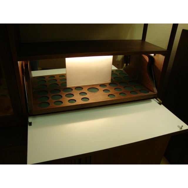 Image of MCM Buffet & China Top With Drop Down Bar