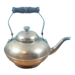 Vintage Copper Tea Kettle