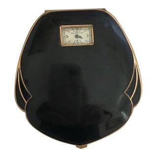 Vintage Art Deco Enamel Compact
