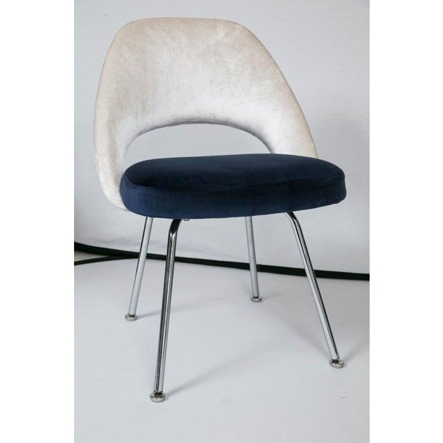 Saarinen executive armless chairs set of 6 chairish for Saarinen executive armless chair