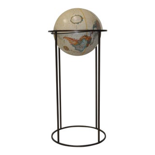 Replogle World Globe on Metal Stand