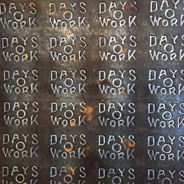 """""""Days O Work"""" Tobacco Tin Sheet - Image 5 of 6"""