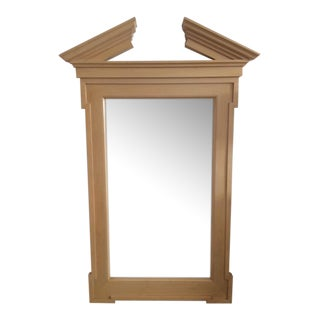 John Hutton for Donghia Georgian Broken Pediment Floor Mirror