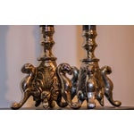 Image of Vintage Silver Metal Candle Holders - A Pair