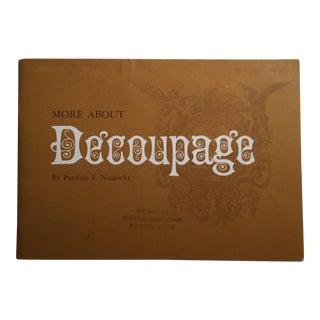 More About Decoupage Patricia E. Nimocks 1965