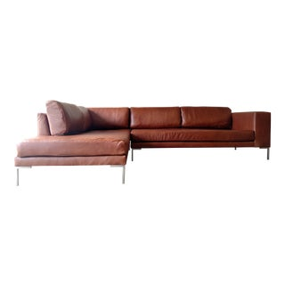 Gambrell Renard Leather Sectional Sofa