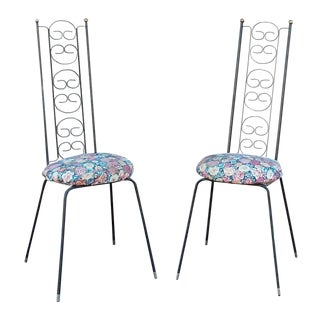 Umanoff Iron Chairs - Pair