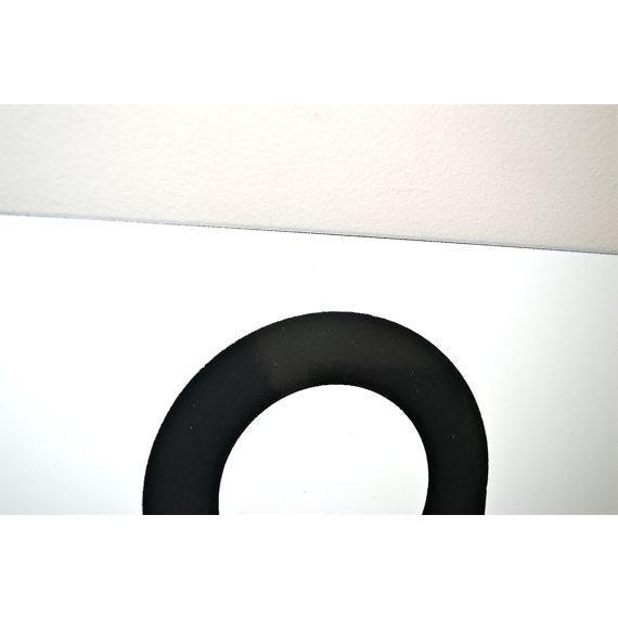 Number 6 or 9 Vintage Porcelain Enamel Sign - Image 3 of 6