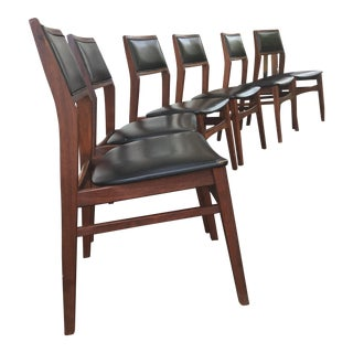 Mid-Century Modern Dining Room Chairs - Set of 6