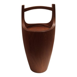 Large Dansk Teak Ice Bucket