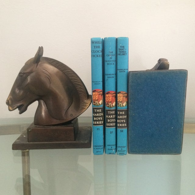 Brazen Horse Bookends - A Pair - Image 10 of 11