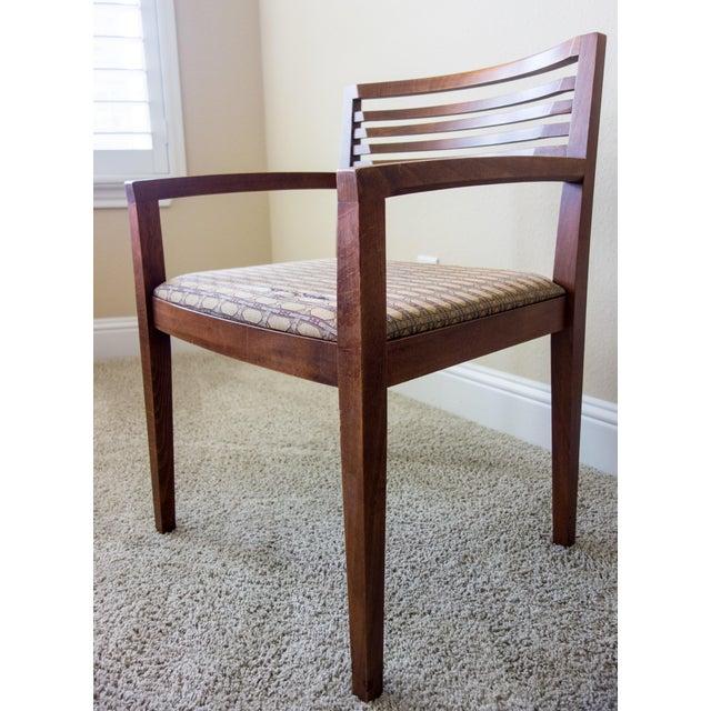 Knoll Vintage Ricchio Walnut Chair - Image 6 of 8