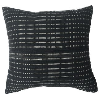 Vintage African Gray Stripe Pillow