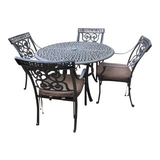 Cast Iron Patio Set - Set of 5
