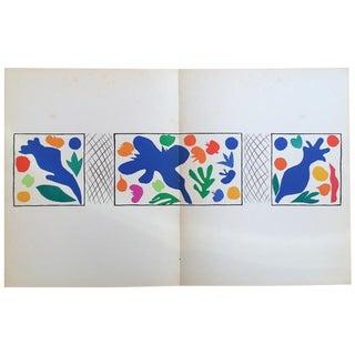 "Henri Matisse Original ""Coquelicots"" Lithograph"