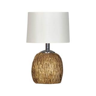 1960s Raymor Woven Rush Table Lamp