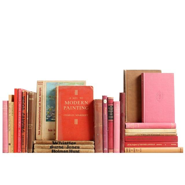Red & Tan Art Mini Books - S/26 - Image 2 of 4