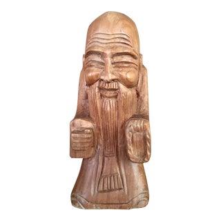 Hand Carved Buddha Statue