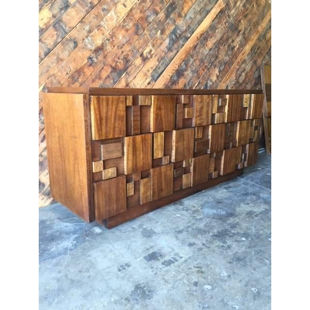 Mid Century Brutalist Dresser by Lane - Image 5 of 7