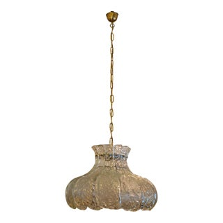 Ice glass hanging lamp by JT Kalmar