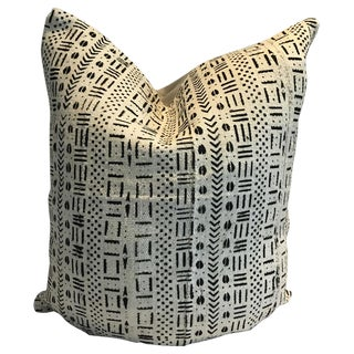 Vintage African Stella #2 Mud Cloth Pillow