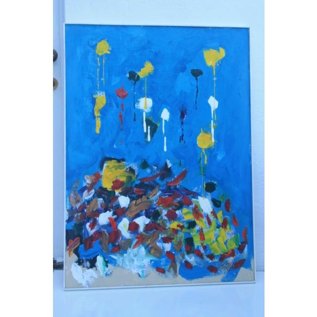Jose Perdomo Vintage Expressionist Painting - Image 11 of 11
