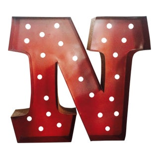 Channel Letters Letter N