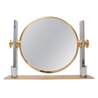 Karl Springer Double-Sided Vanity Table Mirror