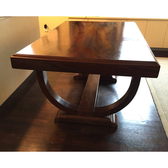 Image of French Art Deco Dining Table