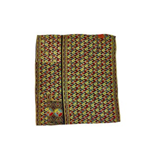 Indian Reversible Hand-Stitched Kantha Throw