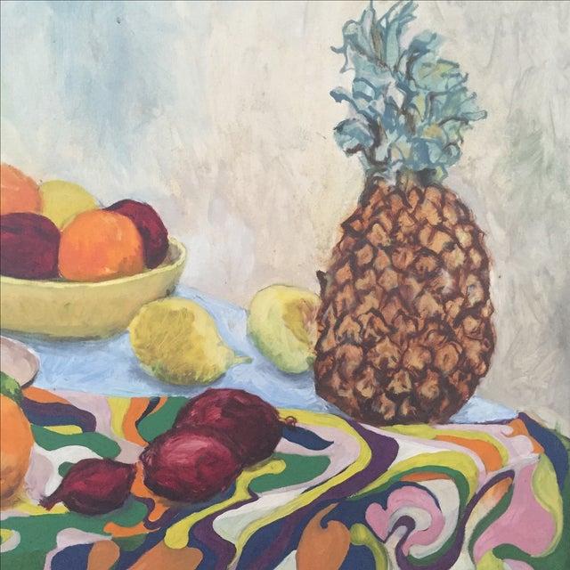 Fruit Still Life by Lynn Molenda, 1968 - Image 3 of 9