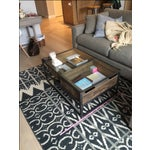 Image of Abc Home Mason Coffee Table With 2 Crates