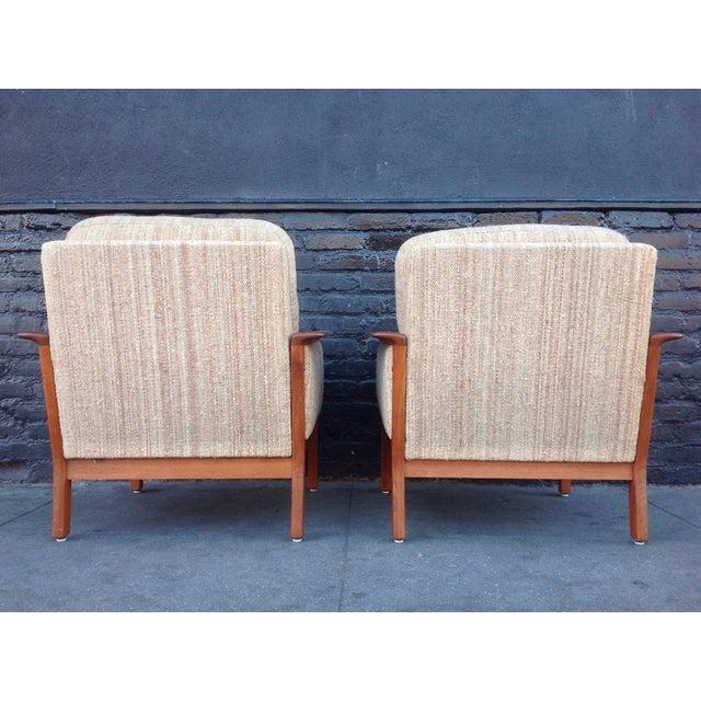 Mid-Century Danish Teak Danish Chairs - A Pair - Image 5 of 7