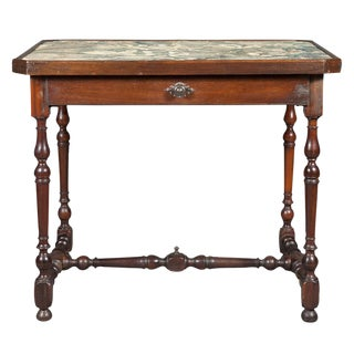 18th c. Continental Baroque Side Table