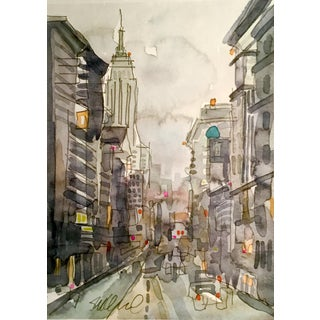 Cityscape of NYC Painting