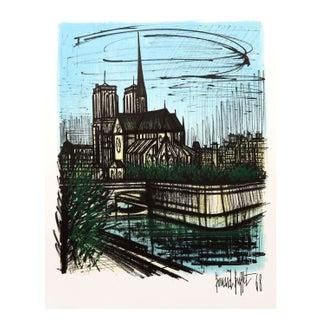 Bernard Buffet Notre Dame Lithograph