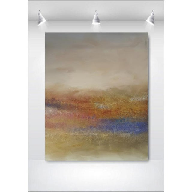 """Land's End"" Impressionist Landscape Painting - Image 3 of 3"