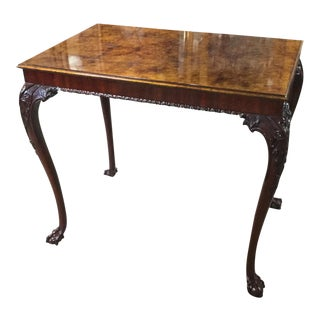 Karges George II Raphael Tortoise Shell Top Tea Table