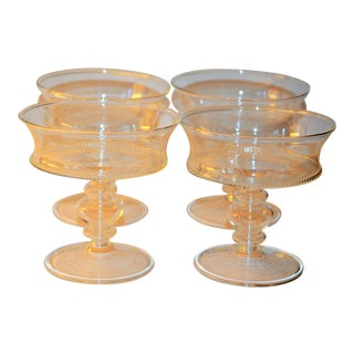 Abigails La Boheme Footed Dessert Dish - Set of 4