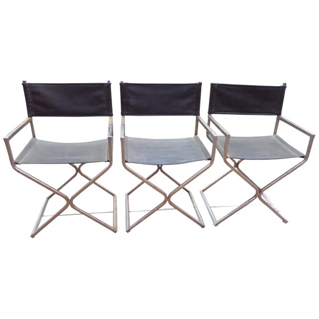 Directors Chairs - Mid Century Modern - Trio - Image 1 of 11