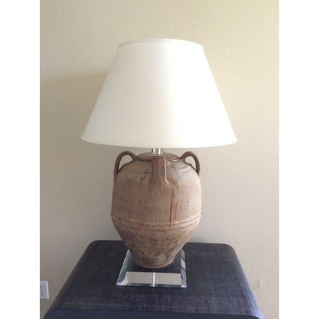 Richard Lindley Olive Jar Lamp - Image 4 of 11