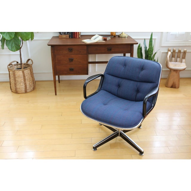Mid-Century Modern Knoll International Desk Chair - Image 3 of 9
