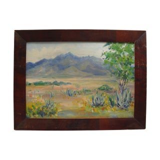 Hanna Walker Agave Landscape Painting